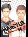 Haikyu!!, Vol. 14, Volume 14: Quitter's Battle