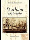 Durham: 1900-1950