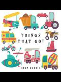 Things That Go!: A Guessing Game for Kids 3-5
