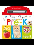 Write and Wipe Get Ready for Pre-K: Scholastic Early Learners (Write and Wipe)