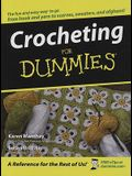 Crocheting for Dummies (Thorndike Health, Home & Learning)