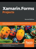 Xamarin.Forms Projects: Build multiplatform mobile apps and a game from scratch using C# and Visual Studio 2019