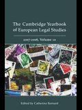 Cambridge Yearbook of European Legal Studies, Vol 10, 2007-2008