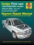 Dodge Pick-Ups 1500, 2500 & 3500 Models, 1994 Thru 2008 Haynes Repair Manual: 2wd & 4WD - V6, V8 and V10 Gasoline Engines - Cummins Turbo-Diesel Engin