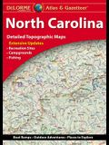 Delorme North Carolina Atlas & Gazetteer
