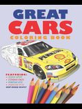Great Cars Coloring Book
