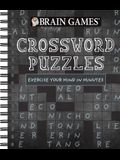 Brain Games - Crossword Puzzles: Exercise Your Mind in Minutes (Chalkboard #1)