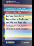 Archean Rare-Metal Pegmatites in Zimbabwe and Western Australia: Geology and Metallogeny of Pollucite Mineralisations