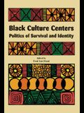 Black Culture Centers: Politics of Survival and Identity