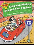Ultimate Sticker Puzzles: License Plates Across the States: Travel Puzzles and Games [With 75 Stickers]