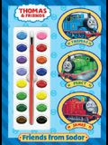 Friends from Sodor (Thomas & Friends) [With Paint Brush and Paint Box]