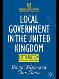 Local Government in the United Kingdom