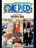 One Piece (Omnibus Edition), Vol. 14, Volume 14: Includes Vols. 40, 41 & 42
