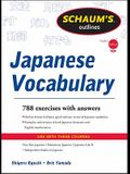 Schaum's Outline of Japanese Vocabulary