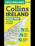 2012 Collins Ireland Road Map
