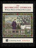 The Kelmscott Chaucer: William Morris & Edward Burne-Jones Colouring Book