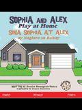 Sophia and Alex Play at Home: Sina Sophia at Alex ay Naglaro sa Bahay
