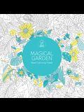Magical Garden: Giant Coloring Poster