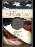 Military Bible-KJV-Large Print Compact