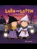 Luke and Lottie. It's Halloween!