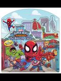 Marvel Super Hero Adventures the Amazing Chase: A Move-Along Storybook