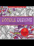 Doodle Designs Artist's Coloring Book