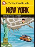 City Walks W/Kids New York [With Cards]