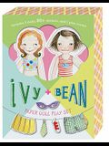 Ivy + Bean Paper Doll Play Set [With Sticker(s) and 2 Play Scenes]