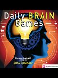 Daily Brain Games Day-To-Day Calendar: Give Your Brain a Lift Everyday