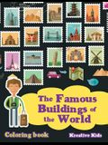 The Famous Buildings of the World Coloring Book