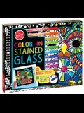 Color in Stained Glass-Activit [With Marker]