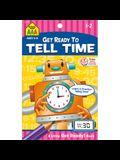 School Zone Tell Time Tablet Workbook