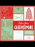 Color Your Christmas: A Crafty Christmas Adult Coloring Book