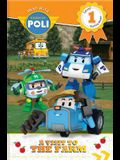 Read with Robocar Poli: A Visit to the Farm (Level 1: Starting Reader)