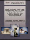 Joseph Pomprowitz, a Sole Trader, Doing Business as L. C. L. Transit Company, Et Al., Appellants, V. United U.S. Supreme Court Transcript of Record wi