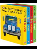 Bright Baby Touch & Feel Slipcase 2: Includes Words, Colors, Numbers, and Shapes