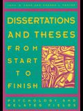 Dissertations & Theses from Start to Finish: Psychology and Related Fields