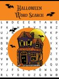 Halloween Word Search: Puzzles Activity Book, Fun For Kids & Adults, Puzzle Activities Gift, With Solutions Pages