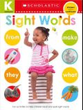 Sight Words Kindergarten Workbook: Scholastic Early Learners (Skills Workbook)