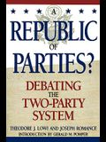 A Republic of Parties?: Debating the Two-Party System