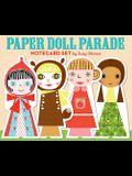 Paper Doll Parade Notecard Set