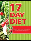 17 Day Diet: Record Your Weight Loss Progress (with Calorie Counting Chart)