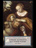 Samson Agonistes and Other Poems: A Broadview Anthology of British Literature Edition