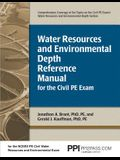 Ppi Water Resources and Environmental Depth Reference Manual for the Civil Pe Exam, 1st Edition (Paperback) - A Complete Reference Manual for the Ncee
