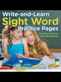 Write-And-Learn Sight Word Practice Pages Reading & Phonics Teaching Materials