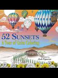 52 Sunsets: A Year of Calm Coloring