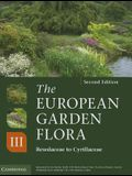 The European Garden Flora Flowering Plants: A Manual for the Identification of Plants Cultivated in Europe, Both Out-Of-Doors and Under Glass