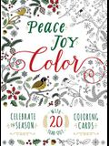 Peace. Joy. Color.: Celebrate the Season with 20 Tear-Out Coloring Cards