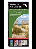 Florida Nature Set: Field Guides to Wildlife, Birds, Trees & Wildflowers of Florida