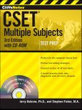 Cliffsnotes Cset: Multiple Subjects , 3rd Edition [With CDROM]